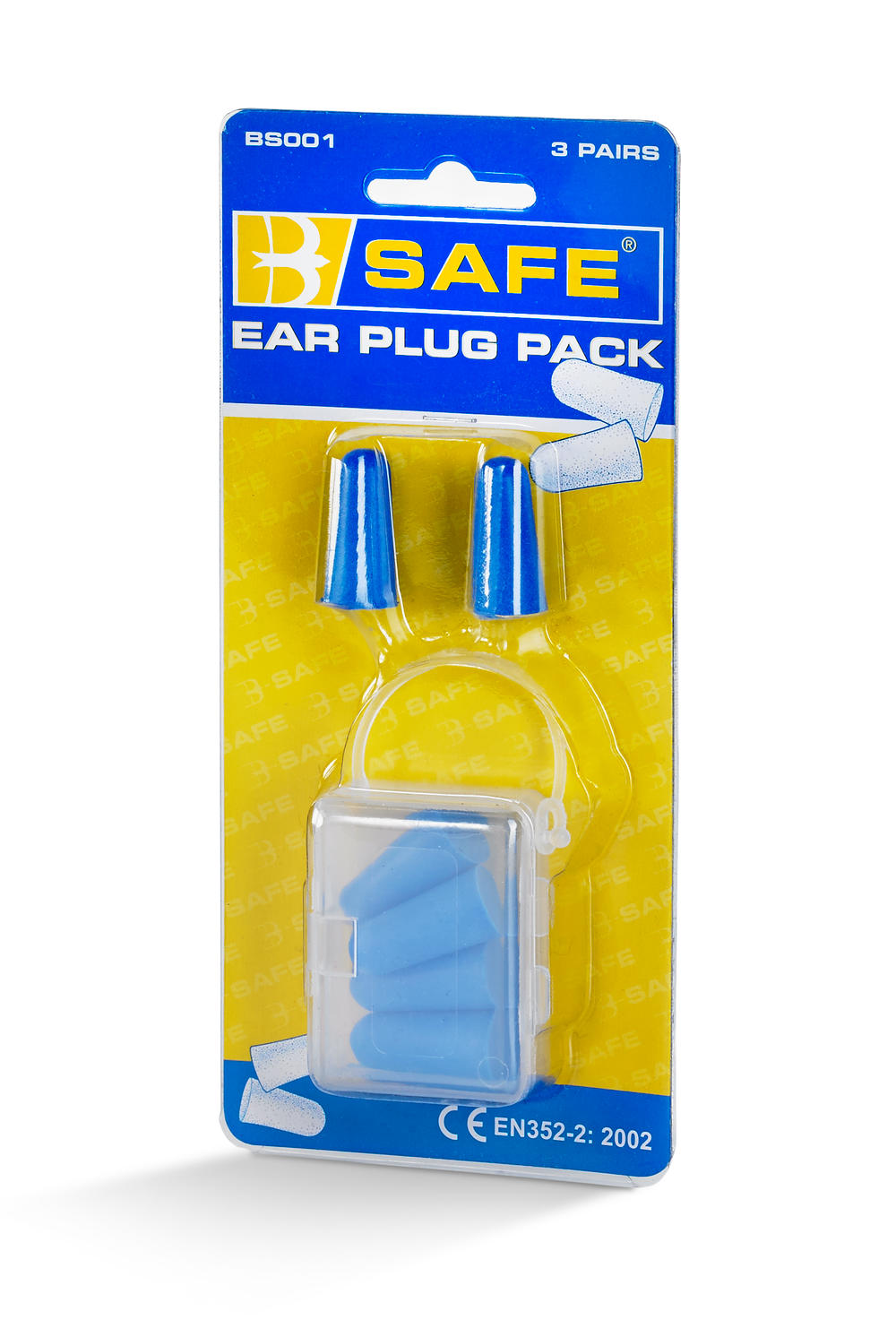B-SAFE EAR PLUGS 3 PAIR/PACK