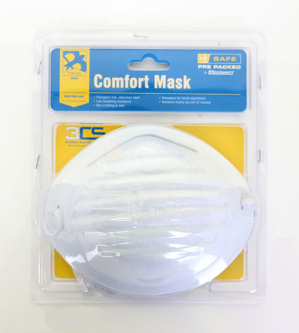 PRE PACKED COMFORT MASKS 5/PACK