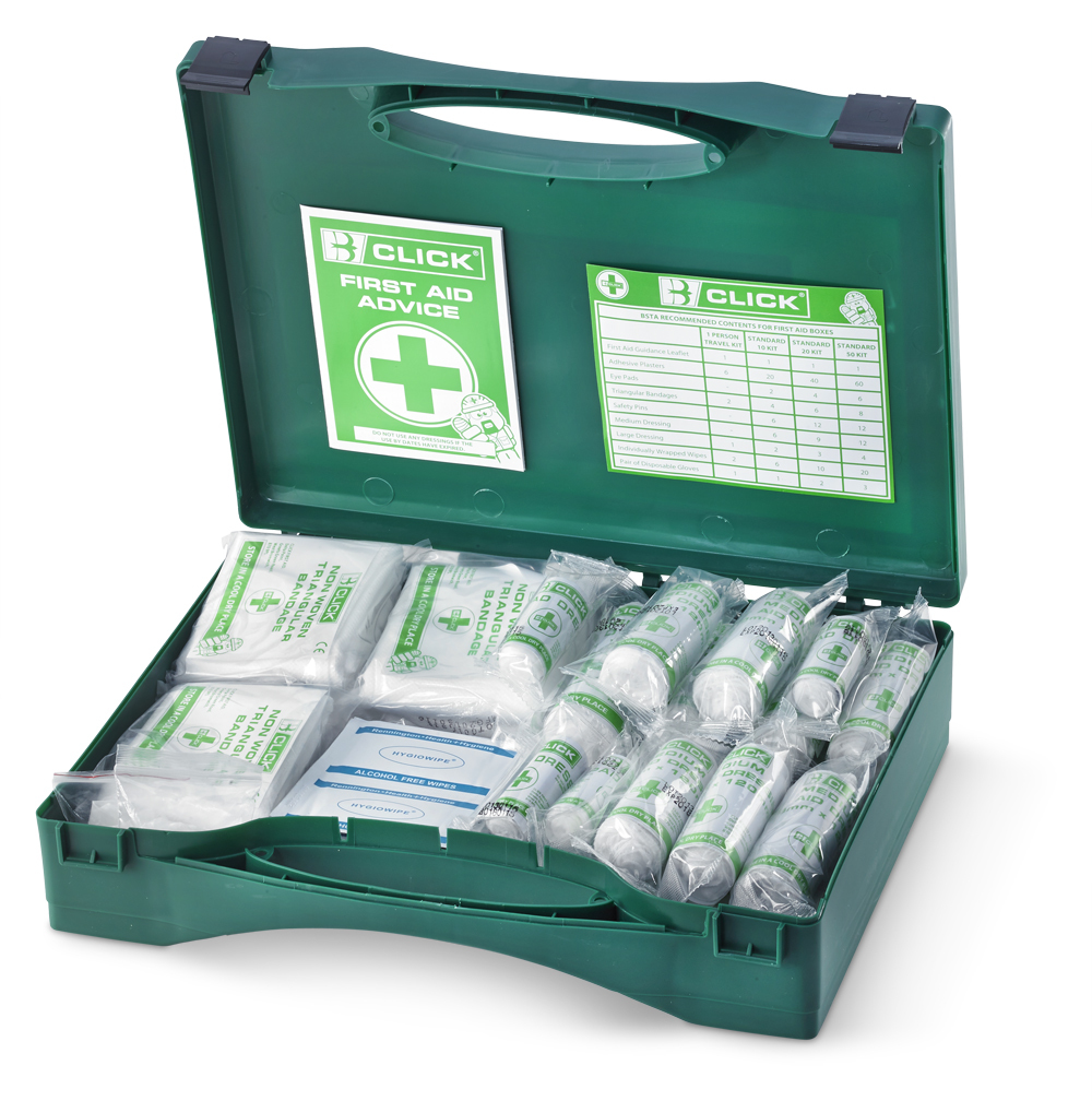 26-50 PERSON HSA IRISH FIRST AID KIT WITH EYEWASH