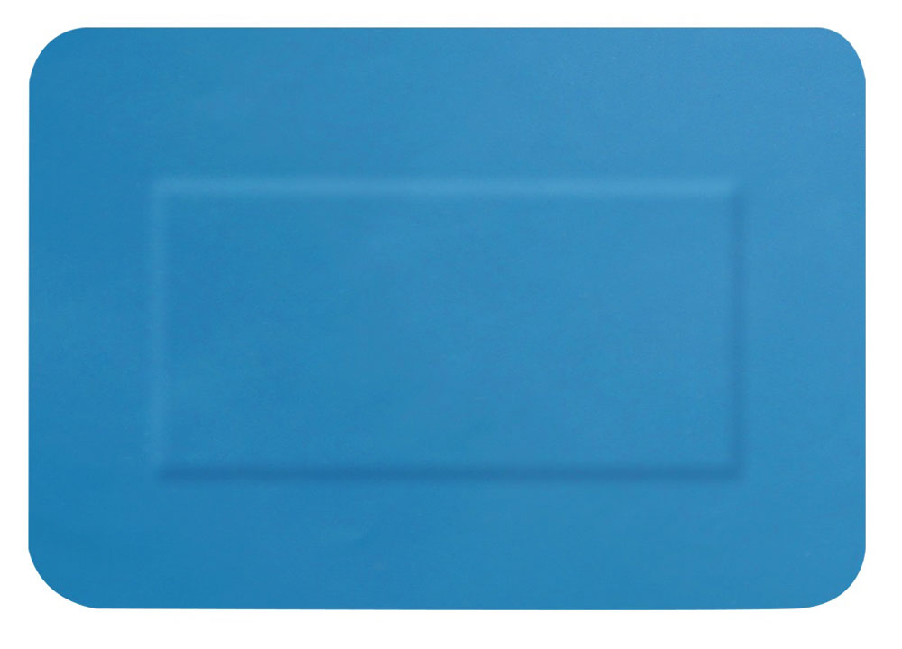 BLUE DETECTABLE PLASTERS 20 ASSORTED