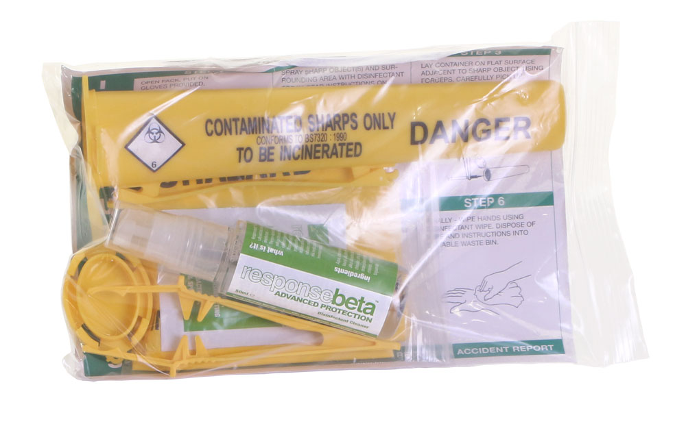 1 APPLICATION SHARPS HANDLING KIT