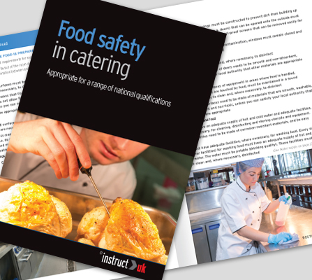 FOOD SAFETY IN CATERING BOOK