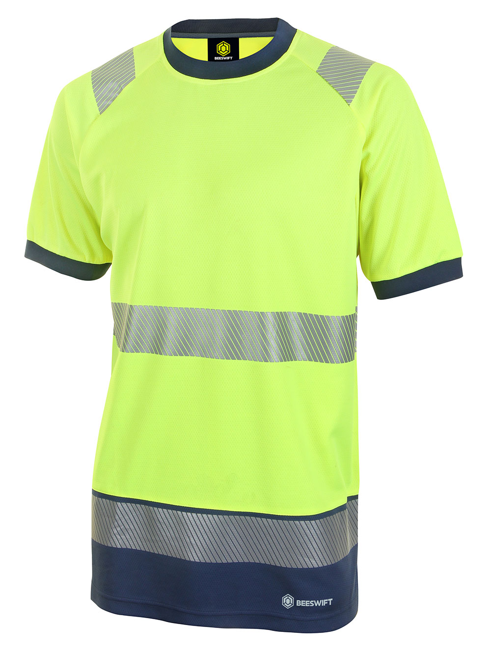 HIVIS TWO TONE SHORT SLEEVE T SHIRT