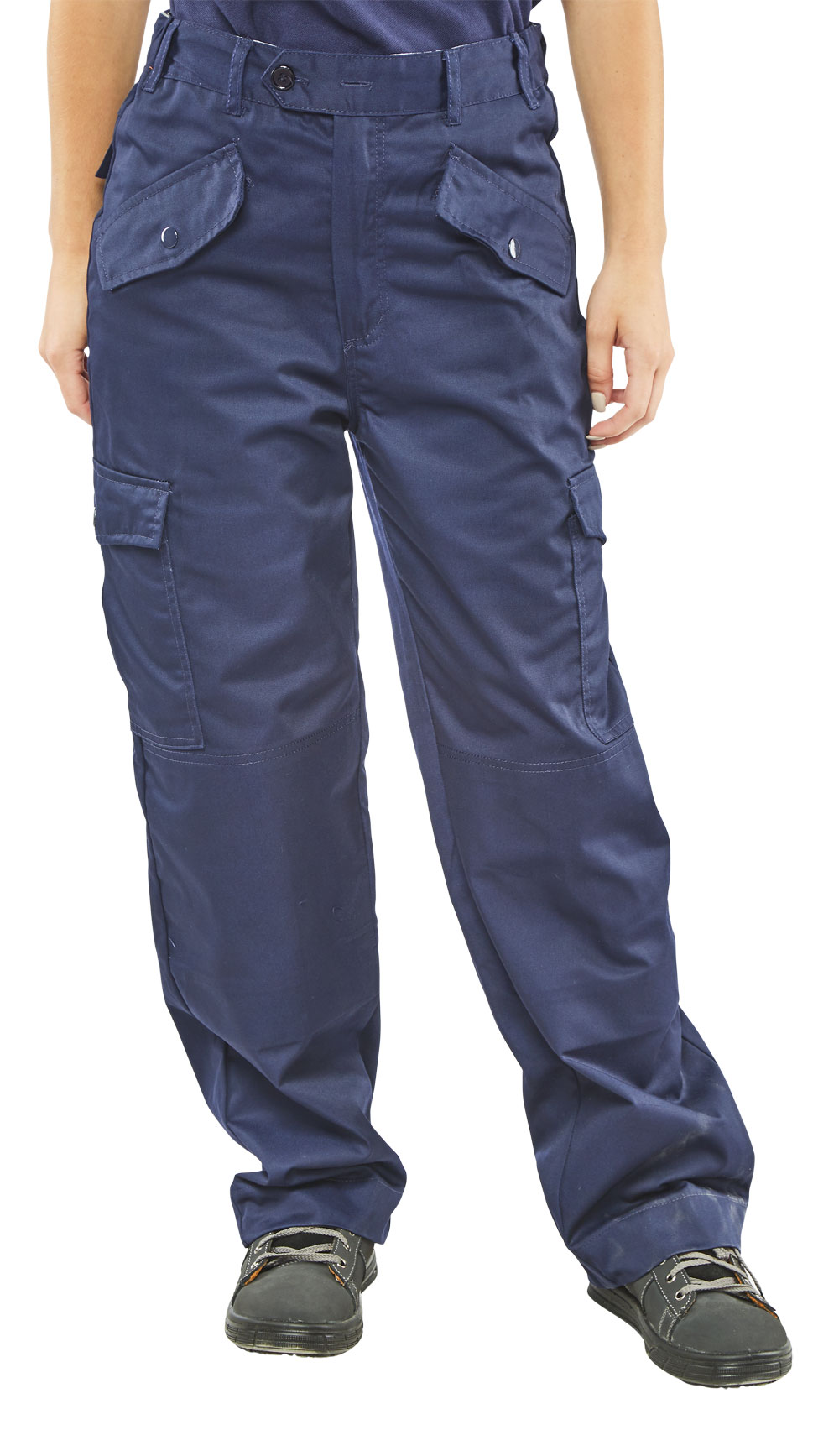LADIES POLYCOTTON TROUSERS
