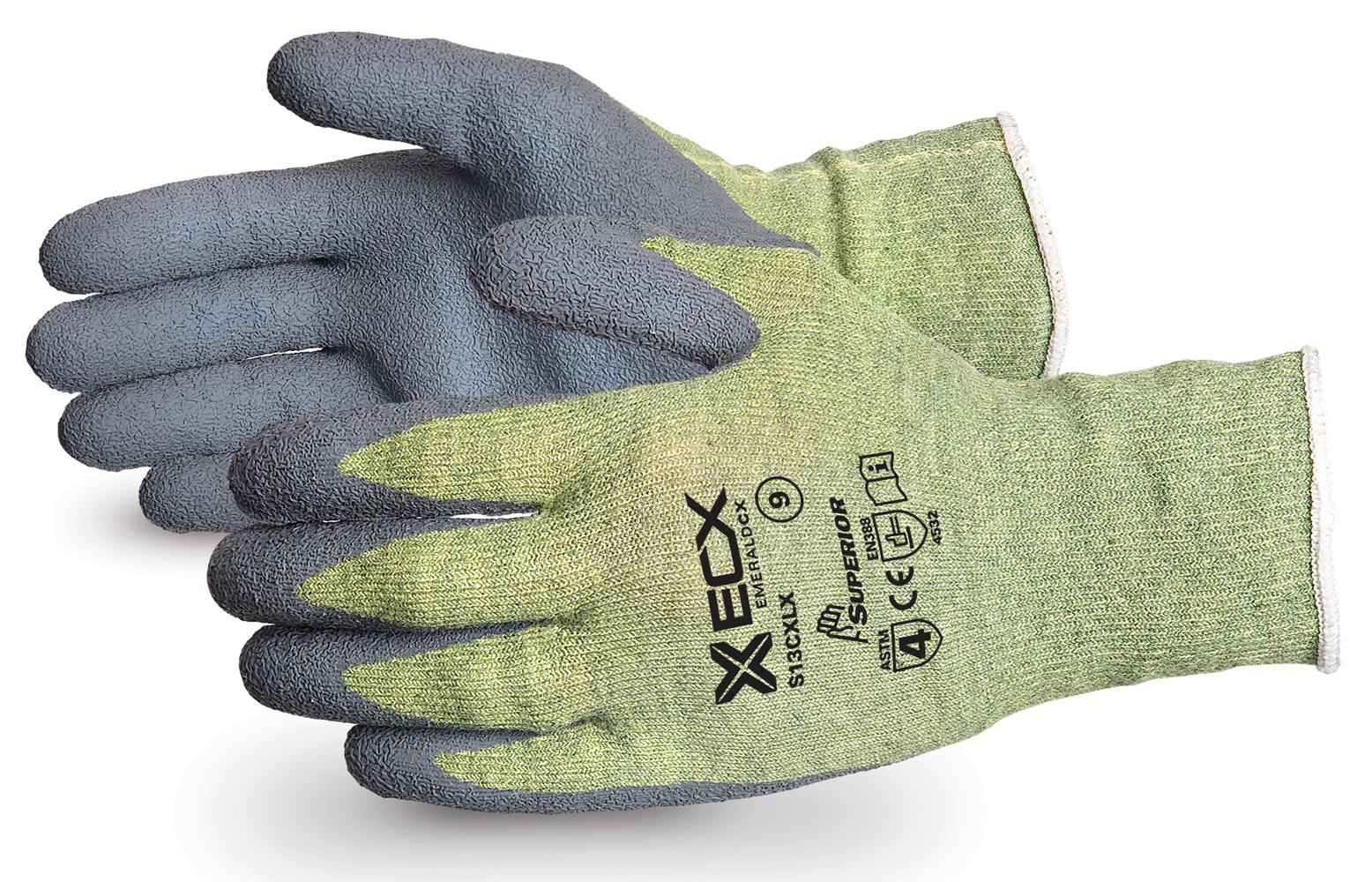 EMERALD CX® KEVLAR®  WIRE-CORE GLOVES WITH LATEX PALMS